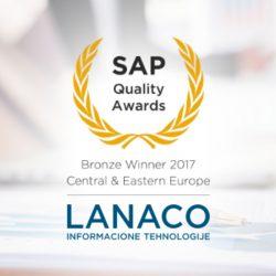 LANACO SAP nagrada za kvalitet